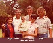 Dad and the family with Heather.JPG (85093 bytes)